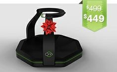 Virtuix Omni - It's like a treadmill for games! (Seriously, though, I want one.)