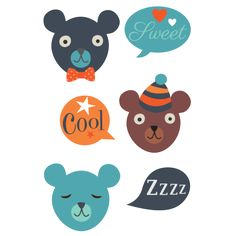 Get the best COOL BEARS Tattoos for kids designed by our expert Mini Labo. For more details visit us at - tattyoo.com