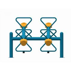 Echipamente locuri de joaca balansoare 4 locuri metal plastic locuri de joaca ELEMENTS AP1542