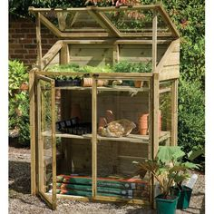 ❧ mini greenhouse