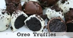This Oreo Truffles recipe is sure to be a crowd-pleaser. So easy to make, but everyone just goes crazy for them! Add them to your Christmas baking list!