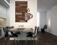 cafe wall art decor - Google Search