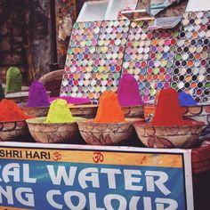 Painting colours in India