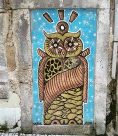 @hazul_luzah #streetart in #Porto