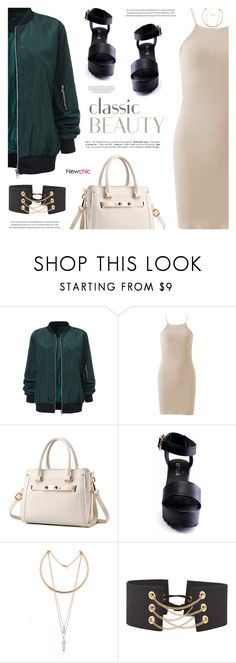 """""""NewChic // Hottest NYFW Runway Trend"""" by defivirda ❤ liked on Polyvore"""