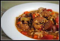 Kielbasa and Lentil Soup