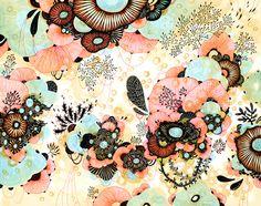 Amble print by Yellena James