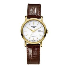Roamer - Ladies Classic Brown Leather Strap Watch - 709844482507 - Online Price: £175.00