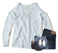 """""""I found my heart and broke it here."""" by your-daily-prep ❤ liked on Polyvore featuring Hollister Co., Abercrombie & Fitch, 1928, Vera Bradley, Lucky Brand and Kendra Scott"""