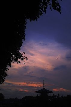 斑鳩の夕(奈良)
