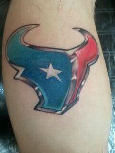 Houston texans 4 pack temporary tattoos for Houston texans tattoo
