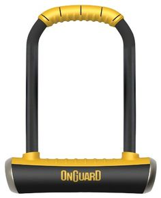 OnGuard Pitbull STD U-Lock, Black, 4.53 x 9.06-Inch -- You can get more details by clicking on the image.