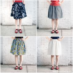 Sew yourself a perfect summer skirt — with pockets!