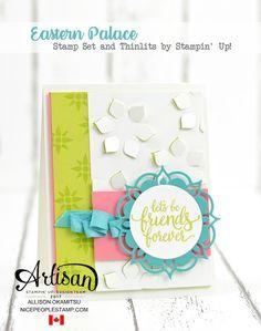 nice people STAMP!: Eastern Palace Cards: Artisan Design Team Blog Hop