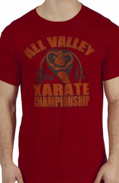 Cobra Kai Championship Shirt