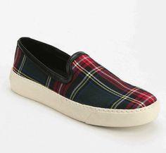 Sam Edelman Plaid Slip-On Sneaker, $69.99 | 50 Jazzy Pairs Of Sneakers Under $100