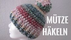 Terrific Photographs crochet beanie for beginners Thoughts Mütze mit Bommel häkeln, Anfänger POMPOM Mütze, Sombrero A Crochet, Crochet Beanie, Knitted Hats, Crochet Hats, Bobble Crochet, Knitting Projects, Crochet Projects, Free Knitting, Knitting Patterns