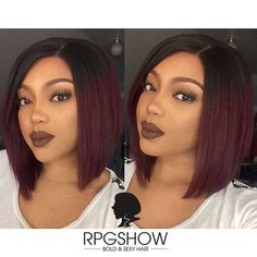 It's the perfect color for your square cut, do not hesitate!  #color #hesitate #perfect #square Modern Hairstyles, Straight Hairstyles, American Hairstyles, Box Braids Hairstyles, Girl Hairstyles, Wedding Hairstyles, Curly Hair Styles, Natural Hair Styles, Birthday Hairstyles