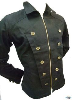 Mens Steampunk Jacket by Ministryofstyle on Etsy