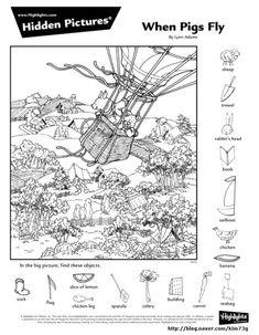 Animal Activities, Craft Activities For Kids, Childrens Word Search, Highlights Hidden Pictures, Hidden Pictures Printables, Hidden Picture Puzzles, Broken Book, Indoor Games For Kids, Paper Games