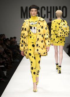 Moschino Spring/Summer 2014 fashion show - #Moschino - See more on www.moschino.com