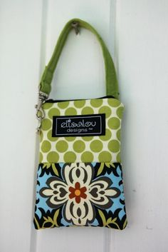 Padded Gadget Pouch iPhone iPod Touch Blackberry by ElisaLou, $20.00