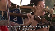 La armonía del vertedero - Orquesta de Instrumentos Reciclados de Cateura) Paraguay