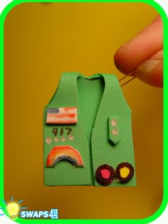 Girl Scout Swap Ideas - Bing Images This is pretty cool. Too bad my girls are Cadettes.