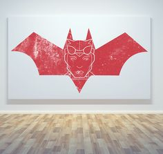 Catwoman with'Red Bat Logo' BackgroundCreated by  Jonah Mark