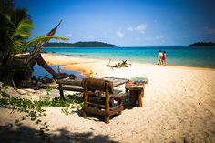 Koh Rong beach.