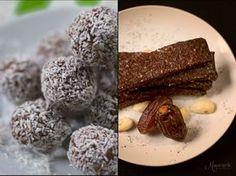 Τρουφομπάρες νηστίσιμες. Μια συνταγή με δύο παραλλαγές... Healthy Baby Food, Healthy Snacks, Paleo Recipes, Sweet Recipes, Biscuit Bar, Energy Bites, Light Recipes, Brunch, Sweets