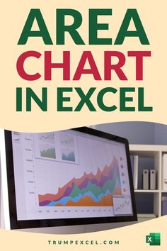 Learn how to quickly create Area chart in Excel. These are just like line charts in Excel, and are often used in business reports and presentations to show variations overtime Excel For Beginners, Excel Hacks, Pivot Table, Absolute Value, Charts And Graphs, Microsoft Excel, Presentation, Make It Yourself, Learning
