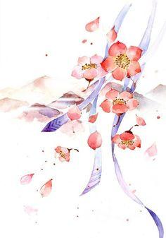 #Background #Art #China #Flower