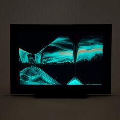 Glow-in-the-Dark Sand Window