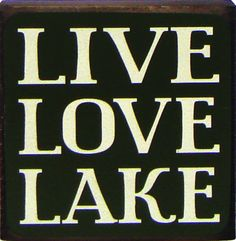 Live Love Lake Sign #SouthernRecollection #LakeLife #HomeDecor