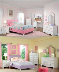 Lubinski Furniture While we are talking about beds then how can we forget little fellows. For that reason here are brought for you upholstered beds in beautiful colours that little girls will love to have.