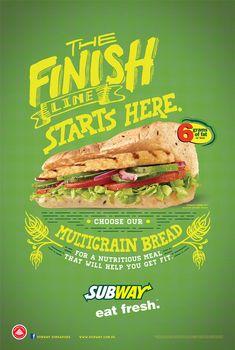 「subway poster sandwich」の画像検索結果