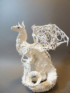 White Dragon from the Creatures from El series by Ellen Jewett.