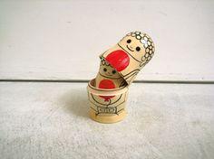 100%ORANGE DAIBUTSU大仏 Matryoshka doll