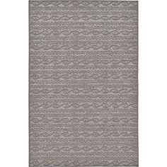 Unique Loom Grey Polypropylene Indoor/ Outdoor Abstract Area Rug (3'2 x 4'11) (3' 2 x 4' 11), Size 3' x 5'