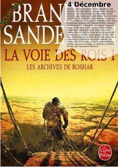 La voie des rois, Brandon Sanderson, Livre de poche