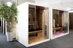 Infrarood sauna Valero lijn is verkrijgbaar in verschillende of metingen en gemaakt van red cedar binnenkant. Uitgevoerd met goede therapeutische infrarood stralers. Cabine Sauna, Traditional Saunas, Portable Sauna, Steam Sauna, Sauna Room, Infrared Sauna, Furniture, Design, Home Decor