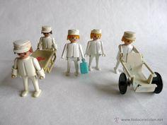 Clicks de Famobil - Equipo sanitario - Enfremeros - Playmobil