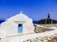 Little Church of Agia Anna Greece Islands, Mount Rushmore, Greek, Anna, Wanderlust, Mountains, Travel, Viajes, Destinations