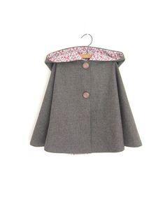 girls woolen cape - Google Search