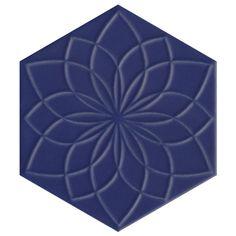 Hexagon Tiles, Splashback, Geometric Lines, Decorative Tile, Porcelain Tile, Wall Tiles, Kitchen Ideas, Floral Design, Shapes
