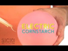 Electric Cornstarch | Science Experiments | Steve Spangler Science