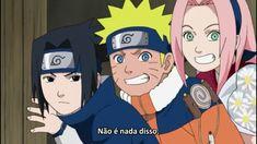 Sasuke, Naruto and Sakura - Naruto