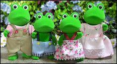 Bullrush Frog Family