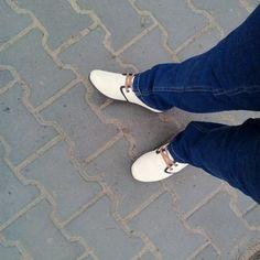 Tydzień testów już za mną. Buty przetrwały deszcz. Jestem z nich bardzo zadowolona. #testowanie #buty #hooy @hooysportswear #cleopatra